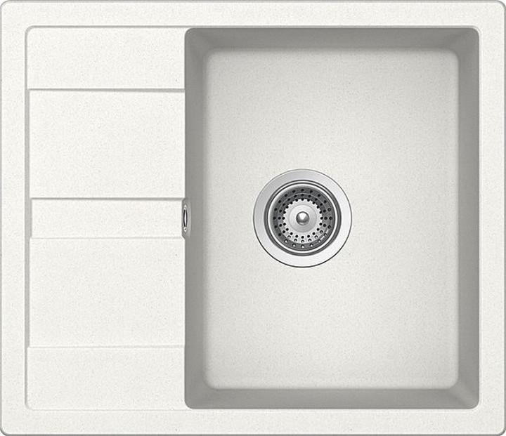 Кухонная мойка AquaLine Siena 65-50 WH Белый