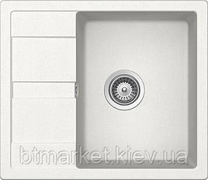 Кухонная мойка AquaLine Siena 65-50 WH Белый, фото 2