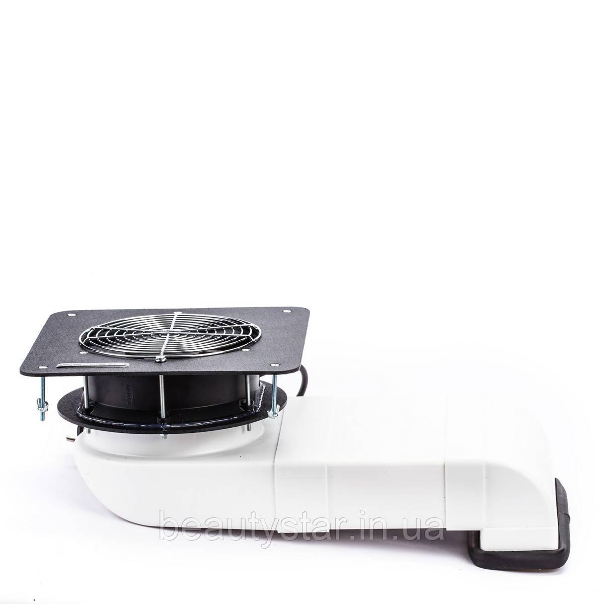 Вбудована витяжка для манікюрного столу пилосос для нігтьової пилу ÜLKA Х2V