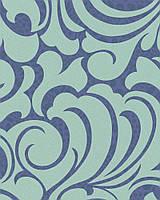 Флизелиновые обои Marburg Messina 55442 Зеленые