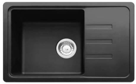 Кухонная мойка AquaLine Ibiza 62-43 ONX Черный, фото 2