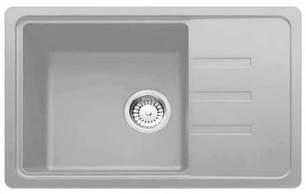 Кухонная мойка AquaLine Ibiza 62-43 GR Серый, фото 2