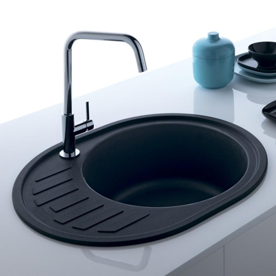 Кухонная мойка AquaLine Minorca 62-50 ONX Черный