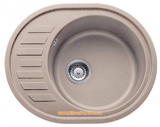 Кухонная мойка AquaLine Minorca 62-50 SND Песочный, фото 2