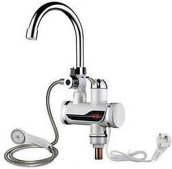 Проточный водонагреватель Delimano душ экран, кран мгновенного нагрева воды, бойлер в стиле Делимано нижнее