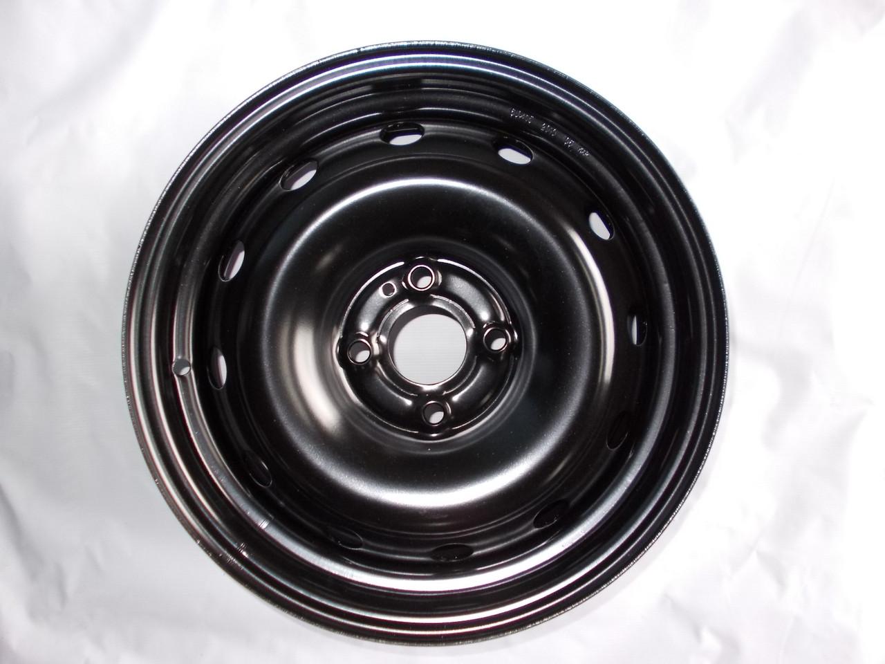 Стальные диски R15 4x100, стальные диски на Kia Rio, железные диски на киа рио, диск сталь на Киа Ри