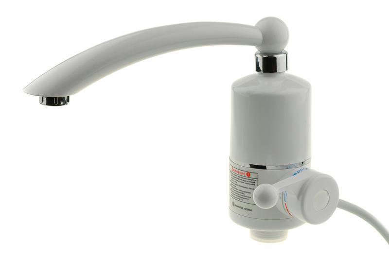 Проточный водонагреватель Delimano / кран мгновенного нагрева воды / бойлер в стиле Делимано