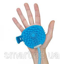 Перчатка для мойки животных Aquapaw / щетка-душ для мойки животных / душ для мытья животных
