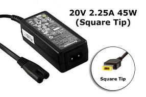 Блок питания для ноутбука Lenovo 20V 2.25A 45W Square Tip
