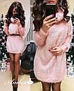 Свободное платье из материала травки 8py2179, фото 4