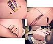 Рюкзак женский кожзам яркий с ушками Фиолетовый, фото 4