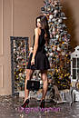 Платье с пышной юбкой и декором на талии 2py2188, фото 3