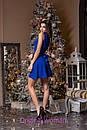 Платье с пышной юбкой и декором на талии 2py2188, фото 4