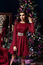 Платье с пышной юбкой и фатиновым подъюбником 2py2189, фото 3