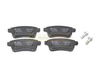 Дисковые тормозные колодки (задние) на Renault Megane IV- Renault (Оригинал) - 440604694R
