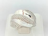 Срібне кільце. Артикул КБ071С 18,5, фото 1