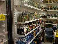 Стеллажи для винно-водочных изделий