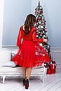 Платье с сеткой и гипюром в больших размерах 38ba1212, фото 3