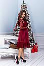 Платье с сеткой и гипюром в больших размерах 38ba1212, фото 4