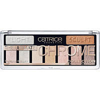 Палетка теней для век Catrice Cosmetics The Ultimate CHROME Collection, 10 g