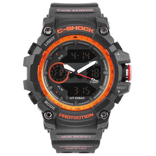 Часы наручные C-SHOCK GG-1100 Black-Orange, Box