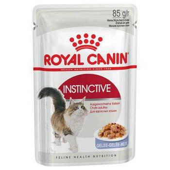 Влажный корм Royal Canin (Роял Канин) Instinctive in Jelly для кошек старше 1 года, 85гx12 шт