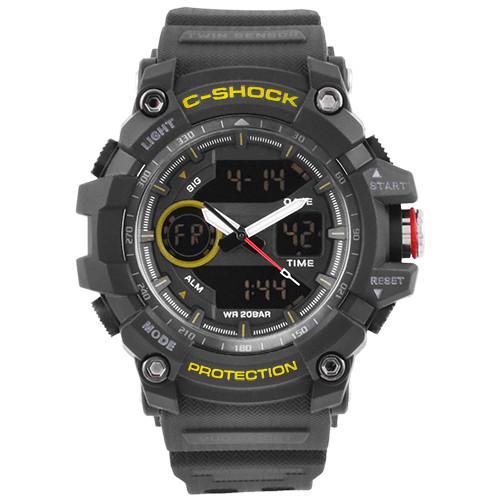 Годинники наручні C-SHOCK GG-1100 Black-Yellow