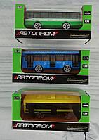 Металлический Автобус 1:64 7655