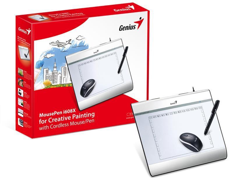 """Граф. планшет Genius MousePen i608X 6"""" х 8"""""""