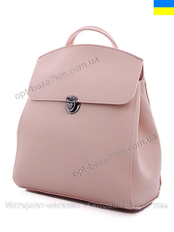 198ca6eec8e6 Рюкзак женский WeLassie 45020 pink (28x26) - купить оптом на 7км в одессе