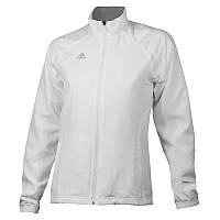 Ветровка спортивная женская adidas BARRICADE V39008 (белая, для тренировок и на каждый день, бренд адидас), фото 1