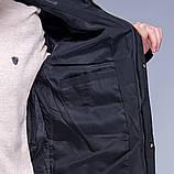 Чоловіча зимова куртка (камуфляж), чорного кольору., фото 8