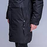Чоловіча зимова куртка (камуфляж), чорного кольору., фото 5