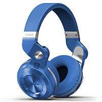 Беспроводные Bluetooth наушники Bluedio T2S с автономностью до 40 часов (Синий), фото 1