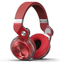 Беспроводные Bluetooth наушники Bluedio T2S с автономностью до 40 часов (Красный), фото 1