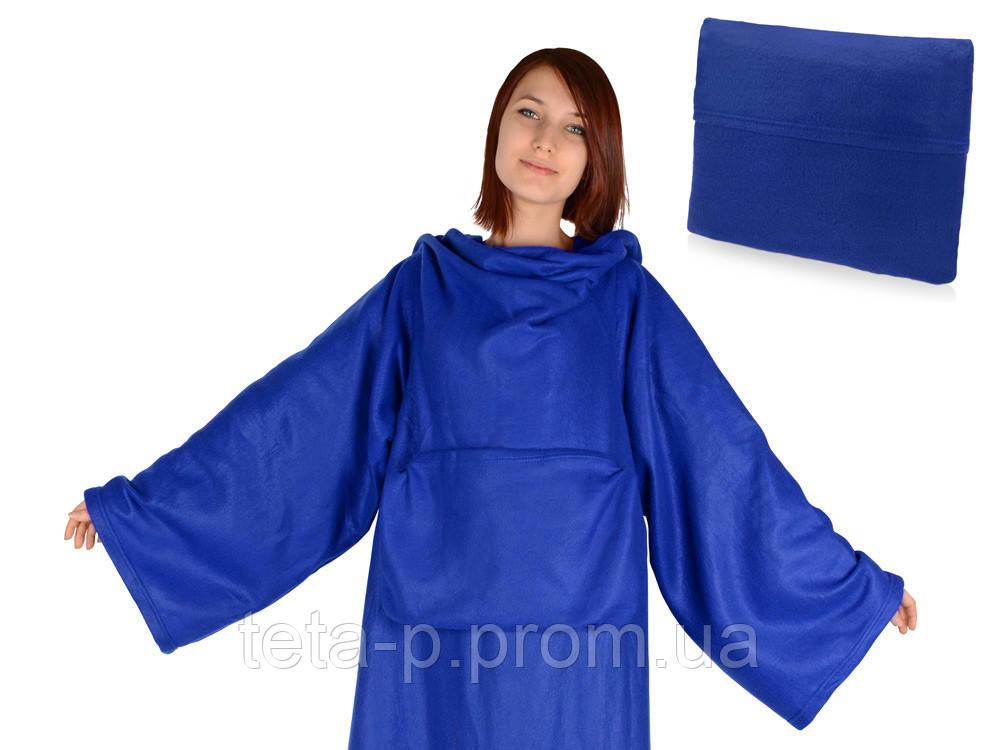Плед с рукавами, складывающийся в подушку, фото 1