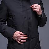 Чоловіча зимова куртка, чорного кольору., фото 8