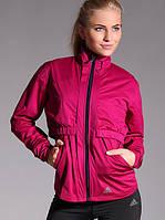 Ветровка спортивная женская 2в1 adidas AS Conv WJ P93309 (фиолетовая, для тренировок, майка + болеро, адидас), фото 1