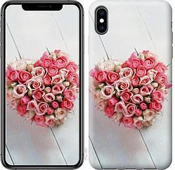 "Чехол для телефона ""Сердце из роз"" (Модели внутри)"