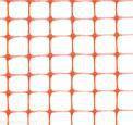 Сетка пластиковая для сигнальных ограждений (Страж 2) 25×25 мм
