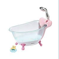 Автоматическая ванночка для куклы BABY BORN - ВЕСЕЛОЕ  КУПАНИЕ со светом и звуком ТМ Zapf 824610