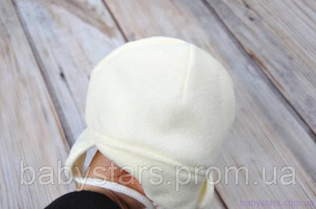 детская шапочка - внутренняя сторона