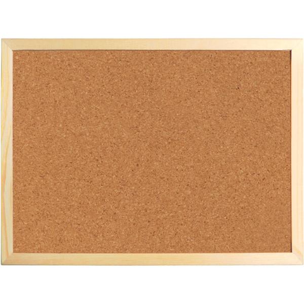 Доска корковая Axent 9602-A 60х90 см, деревянная рамка