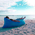 Надувной диван Air Sofa (Ламзак/Lamzac) / лежак, диван-матрас, фото 5