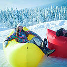 Надувной диван Air Sofa (Ламзак/Lamzac) / лежак, диван-матрас, фото 6