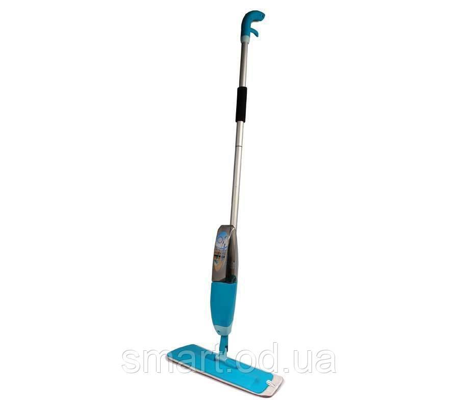 Универсальная швабра с распылителем healthy spray mop / УМНАЯ ШВАБРА 3 В 1 / спрей моп