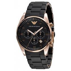 Наручные часы Emporio Armani / мужские часы / Стильные часы в стиле Эмпорио Армани Черный, men