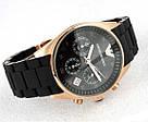 Наручные часы Emporio Armani / мужские часы / Стильные часы в стиле Эмпорио Армани Черный, men, фото 4