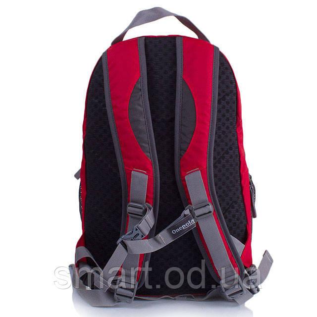 Городской рюкзак Onepolar 1391 / мужской рюкзак для ноутбука / ванполар / оригинал Красный, onepolar