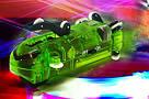 Светящиеся трубопроводные гонки CHARIOTS SPEED PIPES / трубопроводный автотрек / гоночный трек, фото 7